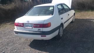 Видео-тест автомобиля Toyota Corona Premio (белый, At210-0024854)