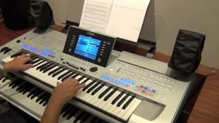 Repeat youtube video Enya - Caribbean Blue - Yamaha TYROS 4