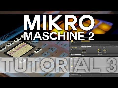 Maschine 2 and Mikro - Tutorial 3 - Basic Recording