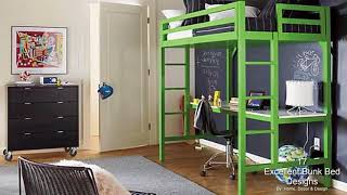 17 Excellent Bunk Bed Designs With Desk That Will Admire You
