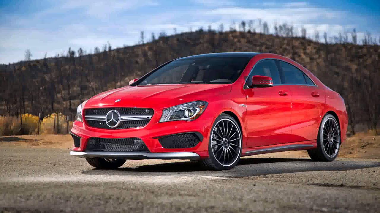 Mercedes cla 45 amg red the image kid for Red mercedes benz cla