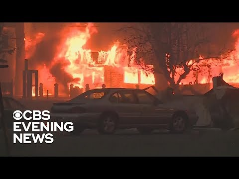 First responders in Paradise, California, help fellow residents