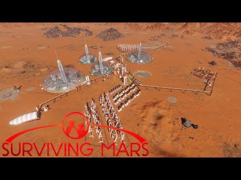 [14] Concrete From Waste & Deep Water Mining | Surviving Mars