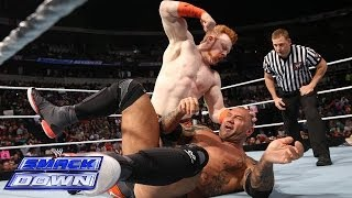 Sheamus vs. Batista: SmackDown, April 18, 2014