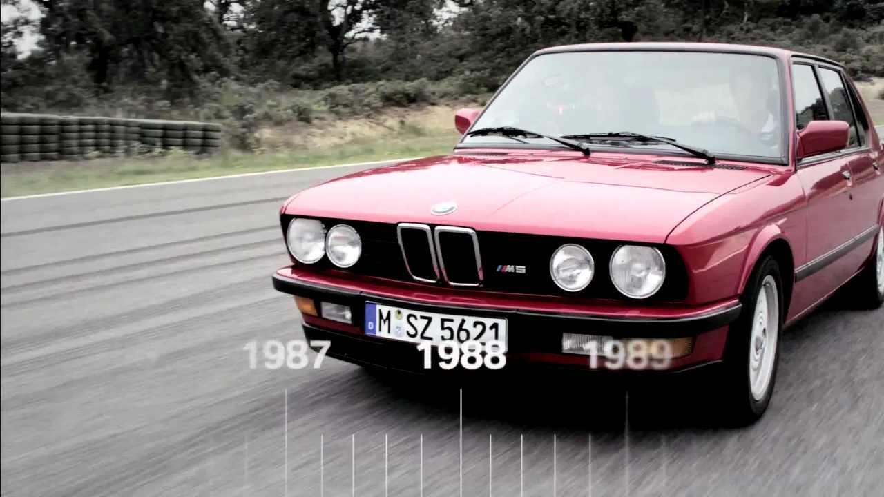 BMW M5 Tarihçe (1984-2011) - YouTube