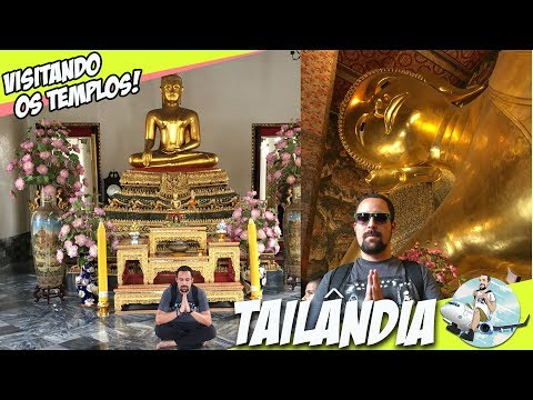 Passeio pelos templos de Bangkok e como evitar o golpe do tuk tuk [Dicas de Viagem Tailândia] GoPro