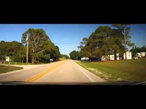 Driving around Trailer Park of Suncoast Estates - North Fort Myers, FL