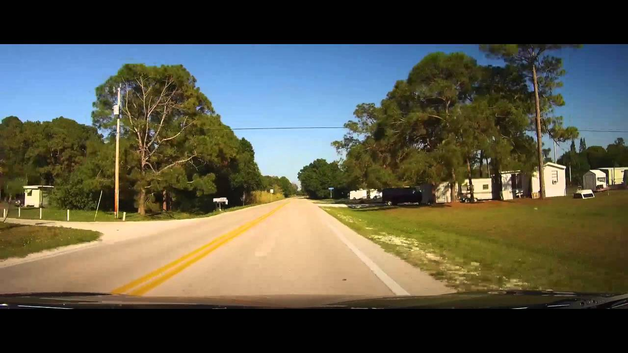 Driving Around Trailer Park Of Suncoast Estates