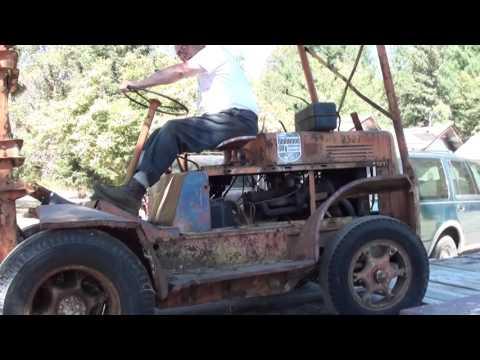 Clark Airplane Loader Forklift