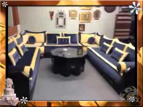 salon marocain traditionnel  2014  YouTube