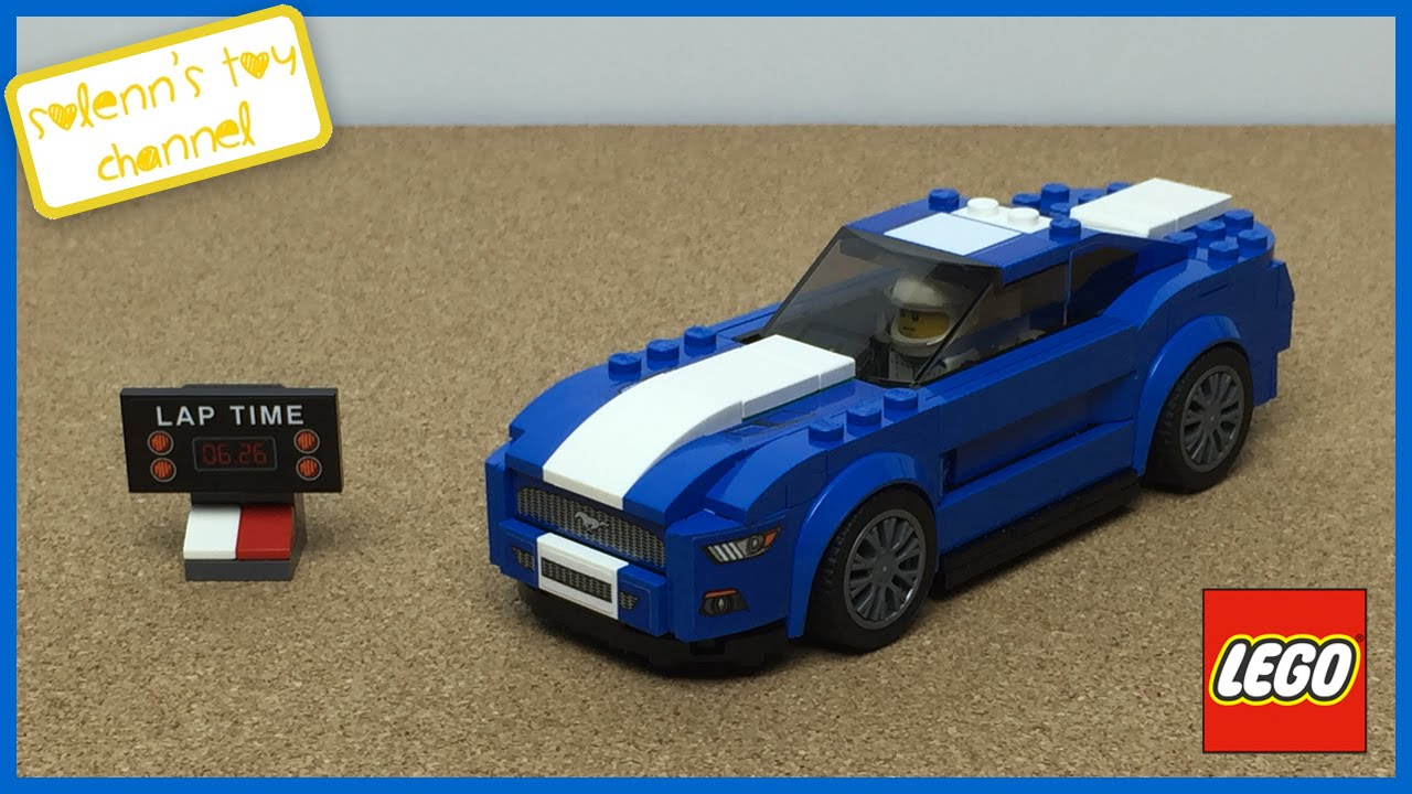 lego speed champions ford mustang gt toy unboxing playtime. Black Bedroom Furniture Sets. Home Design Ideas