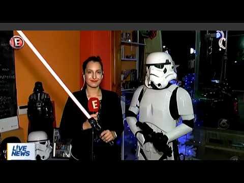 Η Star Wars Hellenic Academy στο κανάλι Έψιλον 17/12/2017