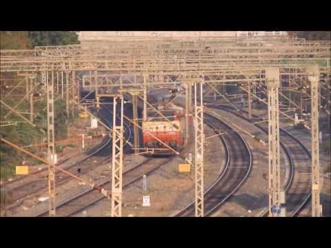 AJJ WAP1 powered Chennai Mangalore express