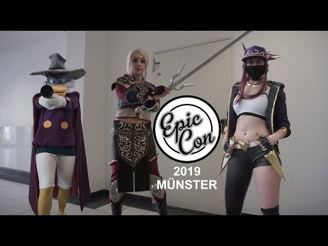 EPICCON 2019 MÜNSTER | COSPLAY VIDEO TVGC