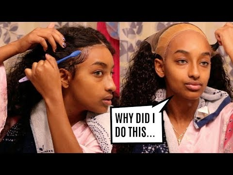 Attempting to Touch Up My Lace Frontal... BY MYSELF?!