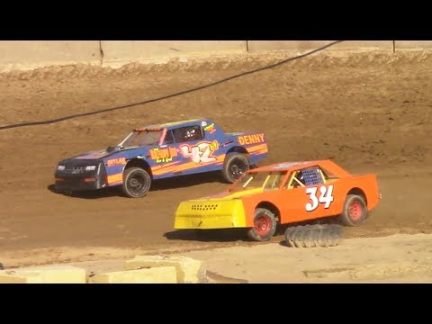 Pure Stock Heat Two | Old Bradford Speedway | 6-11-17