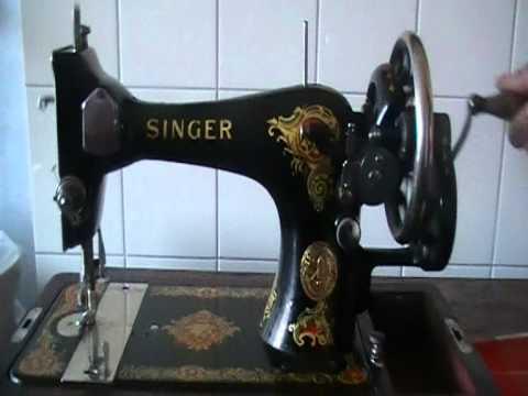 Singer handnaaimachine van  1905