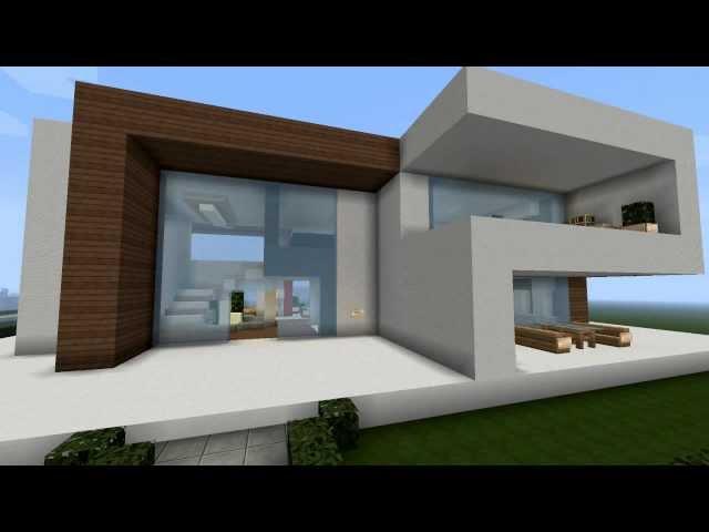 Modernes Minecraft Haus - My Best Modern House - YouTube