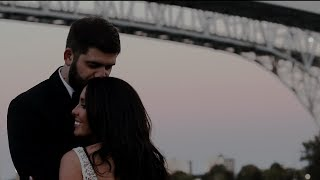 Port Huron Michigan Wedding Film | Blue Water Bridge