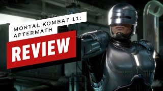 Mortal Kombat 11: Aftermath Review (Video Game Video Review)