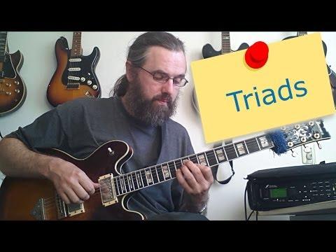 Jazz Chord Essentials: Triads