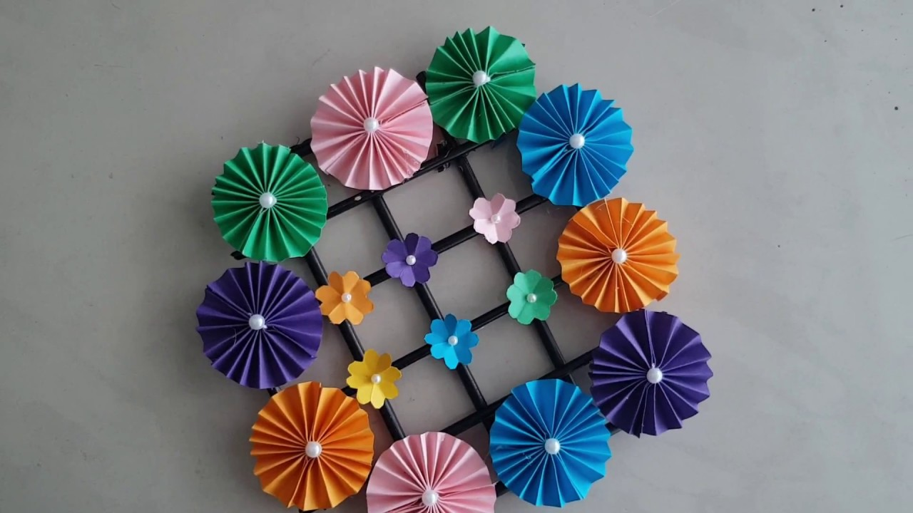 Wow! Wall Hanging Paper Craft Idea | Room Decor Idea || Home Decoration Idea  || Wow Diy Art U0026 Craft