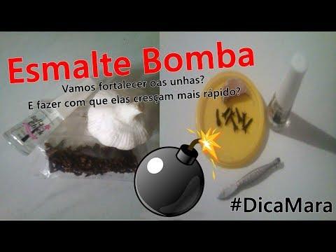 Esmalte Bomba - Fortalece e faz as unhas Crescerem | Mundo da Vivih