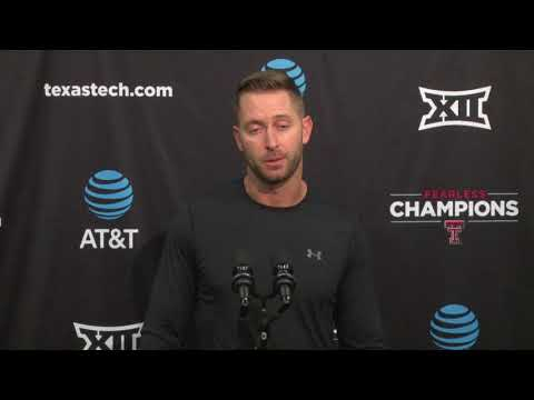 Texas Tech Football Weekly Press Conference - Houston