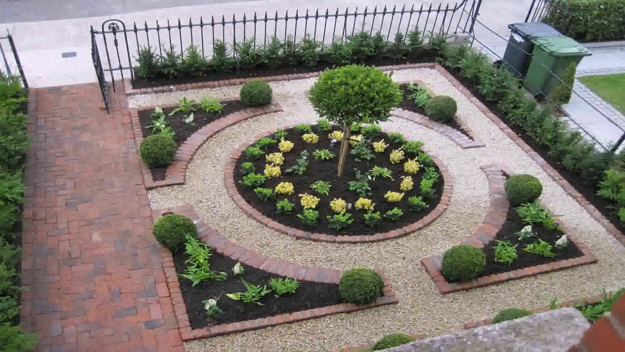 Backyard Landscape Design Without Grass - YouTube