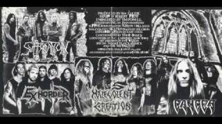Cancer - Hung, Drawn and Quartered ... Live Death !!!