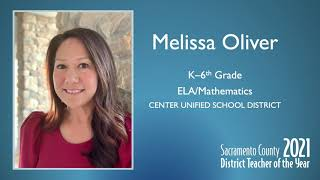 Center JUSD: District Teacher of the Year 2021 – Melissa Oliver