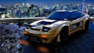 homepage tile video photo for Rocket Bunny S13 240sx Speed edit: Tokyo mountain side