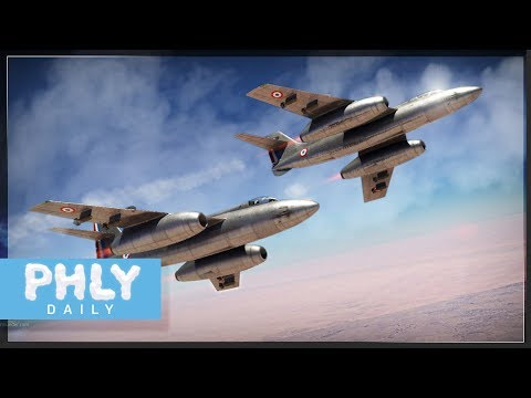 "FRENCH BIAS | French Jet ""Fighter"" Vautour IIA (War Thunder French Jet Gameplay)"