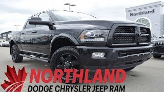 Walk Around 2017 RAM 3500 Laramie | Northland Dodge | Auto Dealership in Prince George BC