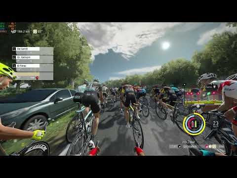 Tour de France 2021 game play  