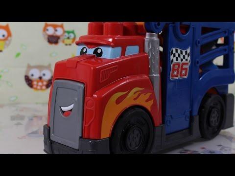 Mega Bloks - Fisher-Price - First Builders - Fast Tracks - Racing Rig - CDN68