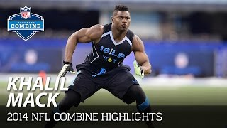 Khalil Mack (Buffalo, OLB) | 2014 NFL Combine Highlights