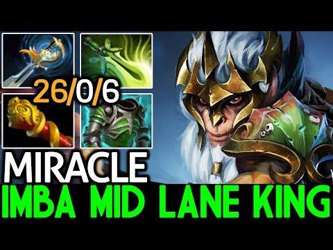 Miracle- [Monkey King] Imba Mid Lane King 26 Kills 7.21 Dota 2 thumbnail
