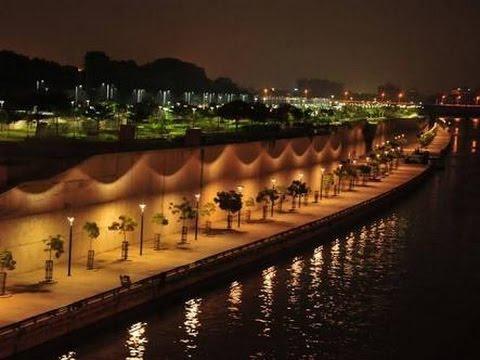 Gomti Riverfront Lucknow developed by Up Cm Akhilesh Yadav.