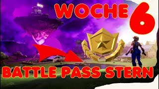 FORTNITE WEEK 6 SEASON 10 (X) SECRET BATTLE PASS STERN (FIGHT) FIND LADESCREEN