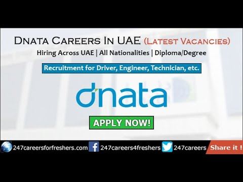 Dubai National Air Transport Association (dnata) Careers & Job Vacancies  for Freshers