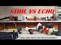 STIHL TRIGGER ASSEMBLY RANT!  STIHL VS ECHO