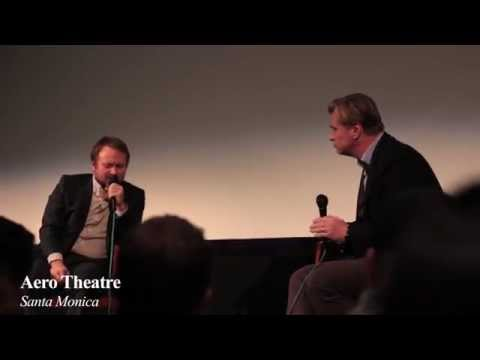 Watch Christopher Nolan and Rian Johnson talk Interstellar