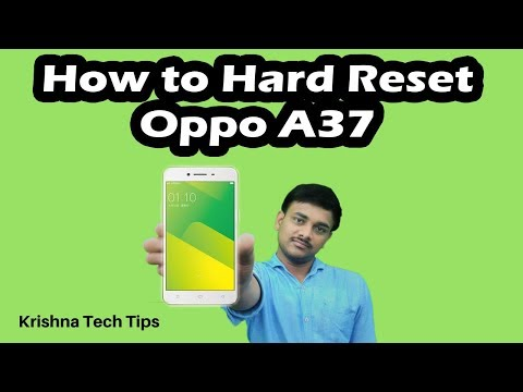 Oppo A37 Hard Reset and Factory Reset - Simple Steps