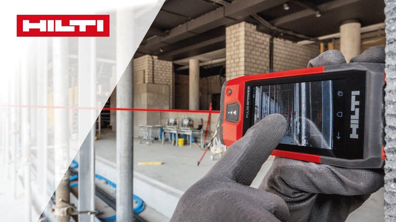 Vorstellung des laser distanzmessgeräts hilti pd c youtube