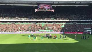 Derbysieger! Werder Bremen vs HSV 16.04.2017