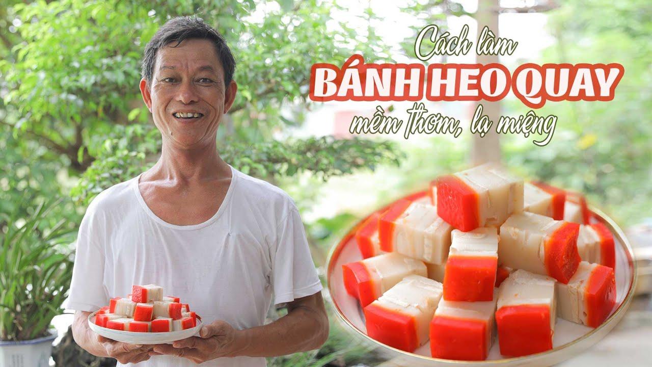 Ông Thọ Làm Bánh Heo Quay Bằng Khoai Môn Độc Đáo, Lạ Miệng | Steamed Roasted Pork Cake