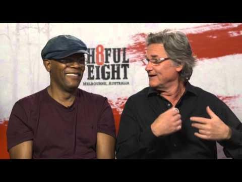 The H8ful Eight interview with Samuel L Jackson and Kurt Russell