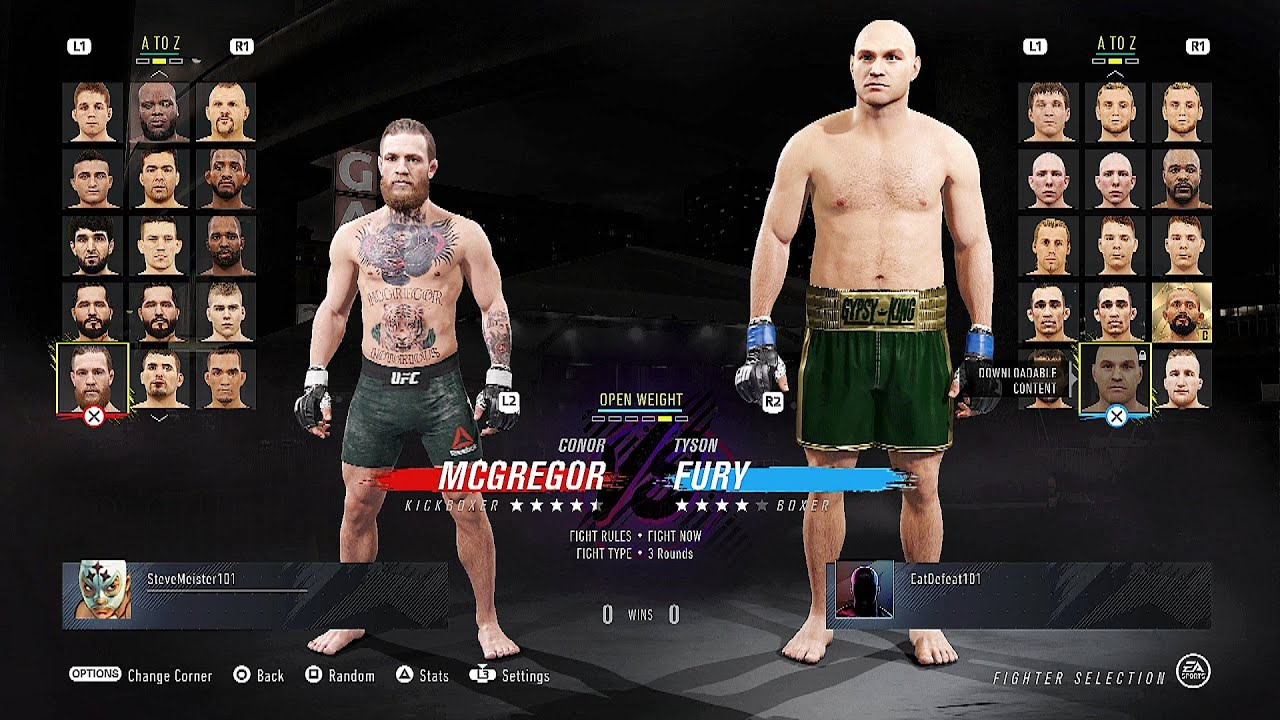 Ea Ufc 4 Complete Roster Who S In And Out
