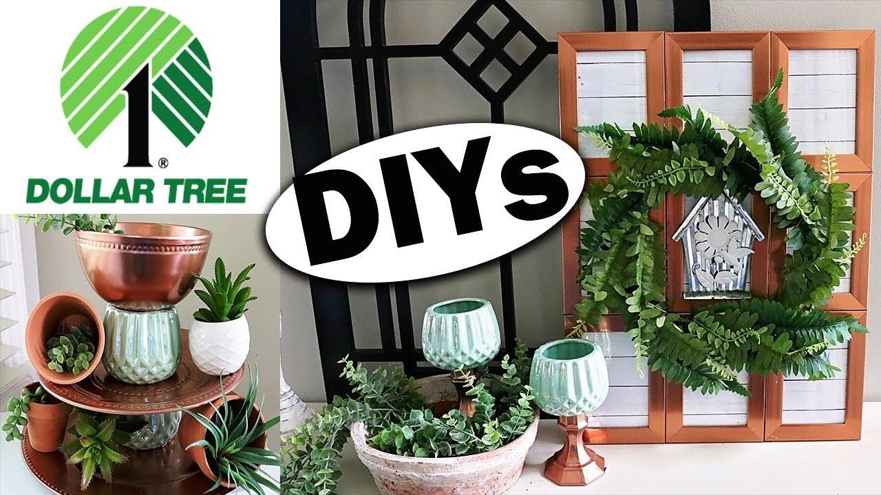 Dollar Tree DIY 2019 ⭐ DIY Room Decor on a budget - YouTube